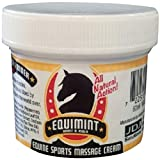 EQUIMINT JDJ Solutions Horse and Rider Massage Mint Cream - with Peppermint, Tea Tree Oil and Added Essential Ingredients for Joint and Muscle Spasm Treatment (16.9 oz)