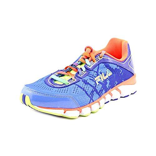 Fila Womens Turbo Fuel Energized Running Shoe Marina / Royal Blue / Fiery Coral