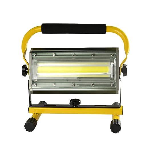 FNHGNG Lámpara de Trabajo Batería, Foco Proyector Recargable ...