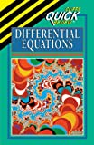 CliffsQuickReview Differential Equations, Cliffs Notes Staff and Steven A. LeDuc, 0822053209