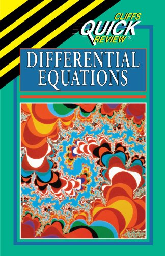 Differential Equations (Cliffs Quick Review)