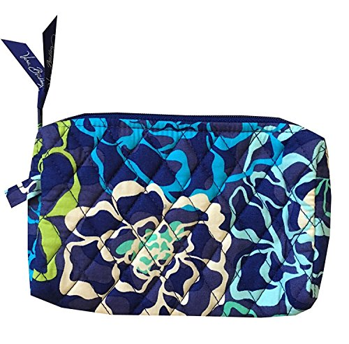 Vera Bradley Medium Cosmetic Bag (Katalina Blues with Navy Lining)