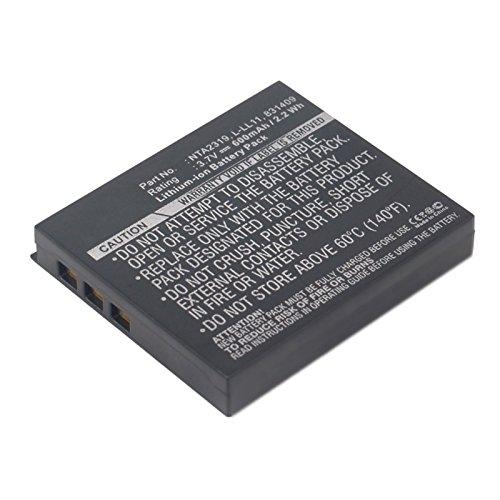 600mAh Control Battery Logitech Cordless