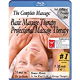 The Complete Massage Pack: Basic & Professional Massage Therapy plus free bonus movie So, You Want To Be A Massage Therapist