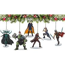 Marvel Legends Thor: Ragnarok 6 Piece Ornament Set