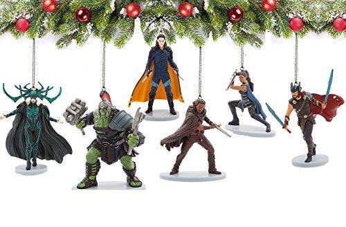 Marvel Legends Thor: Ragnarok 6 Piece Ornament Set]()