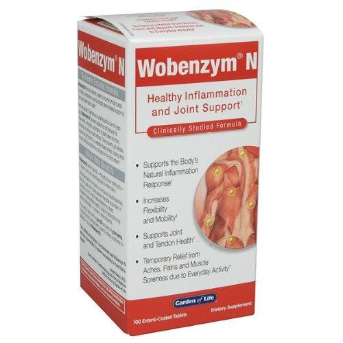Garden Wobenzym Enteric Coated 200 count