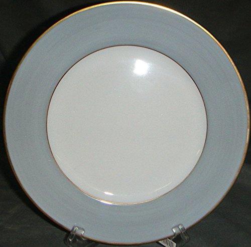 Limoges Jammet Seignolles Diplomate Steel Grey Dessert Plate