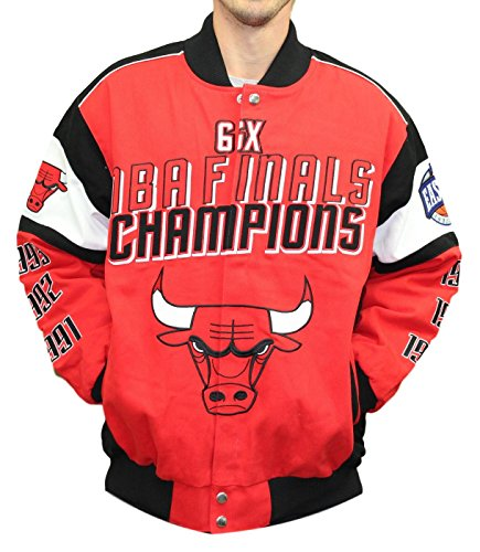 NBA Championship Cotton Twill Commemorative Jacket (Twill Championship Jacket)