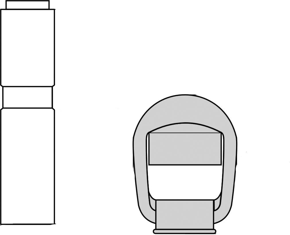 rotating beacon HELLA 8HG 006 294-101 Holder