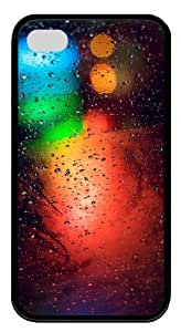iphone 4S case mate cases patterns abstract colors parallax 12 TPU Black for Apple iPhone 4/4S