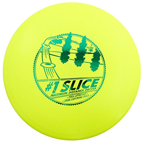 Lightning Golf Discs #1 Slice Fairway Driver Golf Disc [Colors May Vary] - 140-150g (Best Driver For Slice)