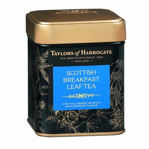 Taylors of Harrogate Scottish Breakfast Loose Leaf, 4.41 Ounce Tin