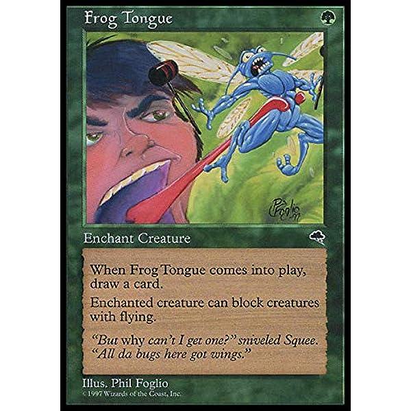 mtg x4 4x Tempest 4 Frog Tongue LP