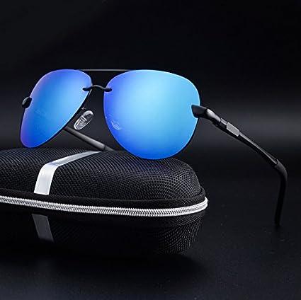 aa956417030a7 BuyWorld Civic Classic Man Al-Mg Polarized Sunglasses Frog Mirror Coat Eyewear  Police Oculos De Sol Driving Glasses Aviator Gafas E196  Amazon.in  Home    ...