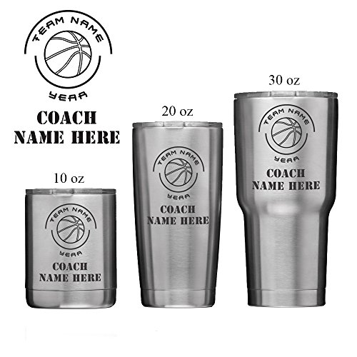 Cheers:30 Personalized Coach Insulated Vacuum Sealed Sports