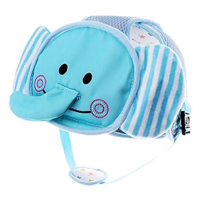 Baoblaze Baby Toddler Hats Safety Helmet Headguard Children Soft Head Protective Caps