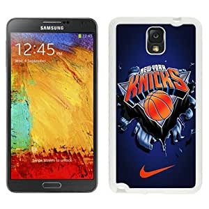 Fashionable Samsung Galaxy Note 3 Case ,Unique And Lovely Designed Case With New York Knicks 6 White Samsung Galaxy Note 3 Cover Phone Case