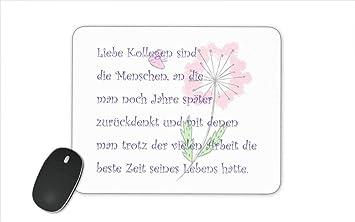 Mousepad Mauspad Bedruckt Mit Spruch Zum Abschied Amazonde Küche