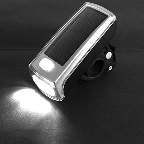 Price comparison product image 1 Pc Master Unique 3 Mode 4x LED Flashlight Bike Lights Night Light Bicycle Head Front Rear Bright Clean Energy Mount Headlight LEDs Flashlights Torch Lamp Charging by Solar / USB 2.0 Rechargeable