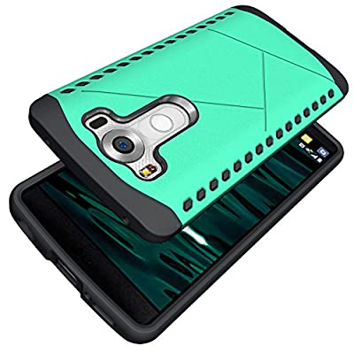 LG V10 Case,Moment Dextrad [Shock Absorbent] Dual Layer Defender [Heavy Duty] Hybrid Shock Proof Fully Protective Cover for LG V10 (2015)*Three Months Warranty*