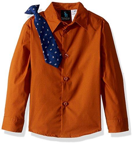 Steve Harvey Big Boys' Four Piece Vest Set, Plaid Ginger, 14 by Steve Harvey (Image #2)
