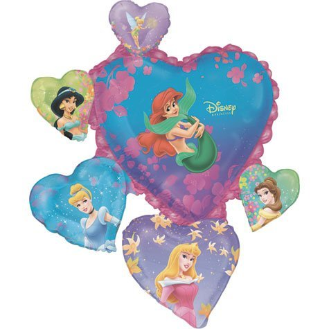 - Disney Princess Heart 32in Balloon