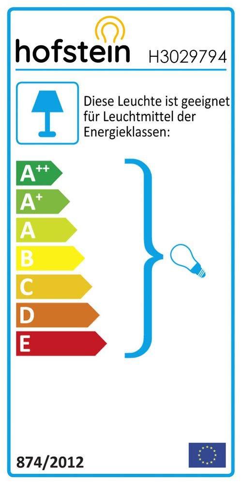 /Ø 40 cm E27 max geeignet f/ür LED Leuchtmittel H/öhe 140 cm 60 Watt moderne H/ängelampe aus Metall//Stoff in Schwarz//Gold Pendelleuchte Meldal max