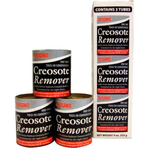 Rutland Products Creosote Remover, 3 oz. Toss-In Canister (3-Pack) by Rutland Products