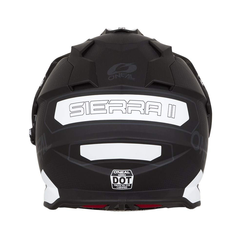 O'Neal Unisex-Adult Off Road SIERRA II Helmet (COMB) Black/White Small by O'Neal (Image #3)