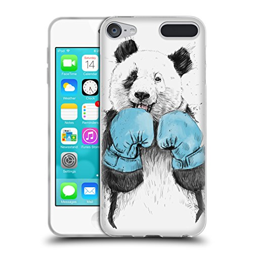 Official Balázs Solti The Winner Animals Soft Gel Case for Apple iPod Touch 6G 6th Gen from Head Case Designs
