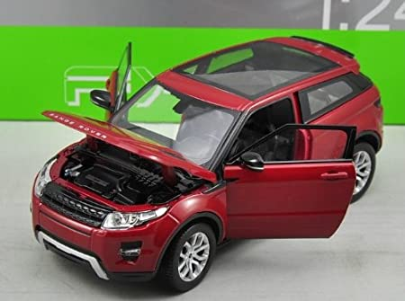 Range Rover Land Rover Evoque Red 1//24 by Welly 24021 SG/_B00F5EE3JA/_US