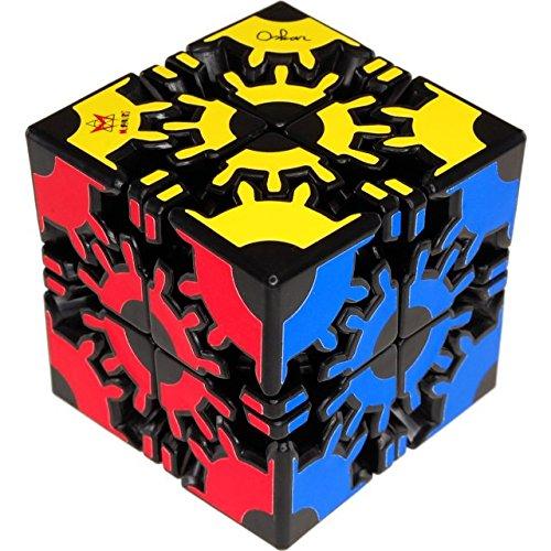 b165394b2377 Meffert's David's Gear Cube - Black Body - Import It All