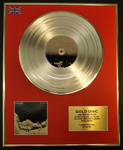 Weezer/ltd. Edition CD Gold Disc/record/pinkerton
