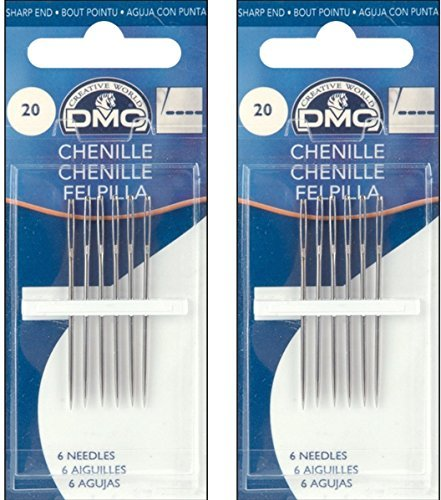 DMC 1768-22 Chenille Hand Needles, 6/pkg, Size 22 (Parent)