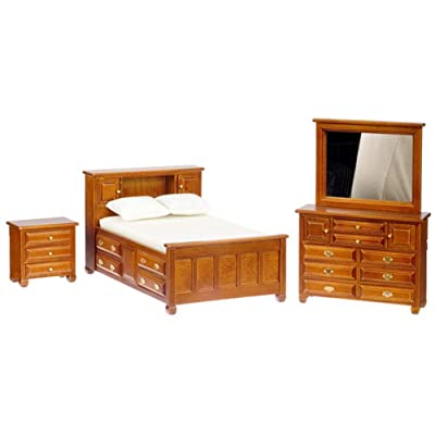 Miniature 3-Pc. Storage Bedroom Set sold at Miniatures: Toys & Games