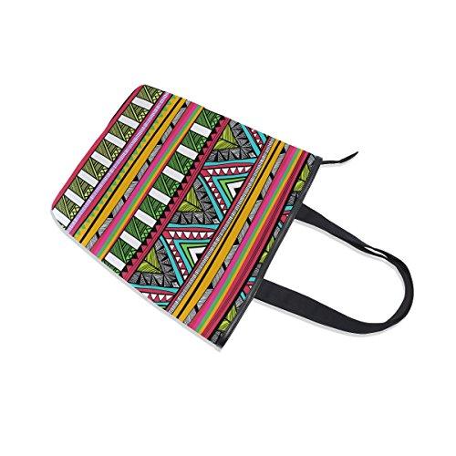 De Sac Alaza Stripe D'épaule À Tribal tout Aztèque Main Fourre Ethnique q66nxwtE