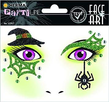 """HERMA Face Art Sticker Gesichter /""""Hexe/"""""""