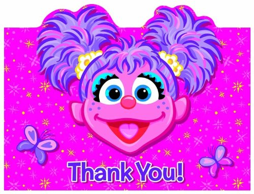 Abby Cadabby Thank You Notes, 8ct ()