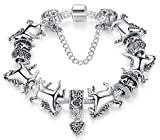 Chariot Trading - Original Bracelet for Women 925 Sterling Silver Beads Chain