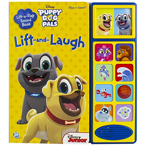Halloween Costumes Out Of Nothing (Disney Junior Puppy Dog Pals - Lift and Laugh Out Loud Sound Book - PI)