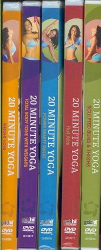 Ultimate Yoga Makeover, 5 Volume Set