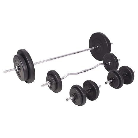 Xingshuoonline - Juego de Mancuernas y Mancuernas para Gimnasio y Fitness, 90 kg