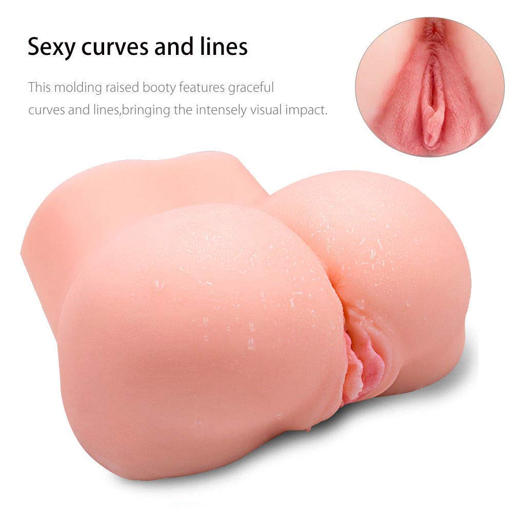 Lifelike TPE Pussycat Love doles for Men Realistic Male Adult Toys for Man Full Silcone Female Trunk TPE Dolls with 2 Tight Openings (9.5×5.5×5in) by Sunfay (Image #3)