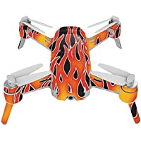 Skin For Yuneec Breeze 4K Drone – Hot Flames | MightySkins Protective, Durable, and Unique Vinyl Decal wrap cover | Easy To Apply, Remove, and Change Styles | Made in the USA