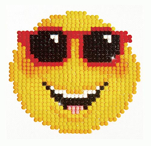 Needleart World Smiling Face Diamond Embroidery Kit, None ()
