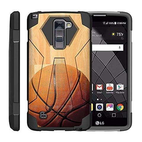 TurtleArmor   LG Stylus 2 Case   LG G Stylo 2 Case   Stylo 2 V [Dynamic Shell] Dual Hybrid Hard Absorber Impact Silicone Cover Kickstand Sports Video Games Design - Hardwood (Lg Dynamic 2 Phone Case Camo)