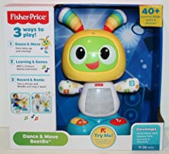 Who likes to move? BeatBo does! Get the dance party started by pressing BeatBo's tummy or any of the buttons on his feet to activate fun songs, learning content and dance moves. This futuristic friend even allows mommy or baby to record a phr...