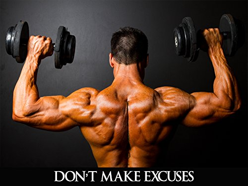 Workout Poster Fitness Bodybuilding Gym