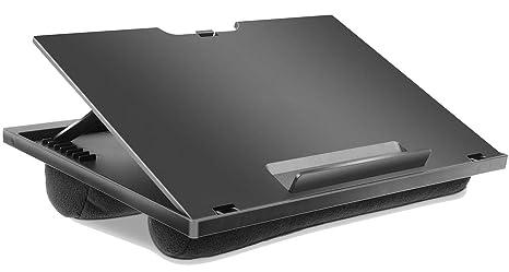 amazon com adjustable lap desk with 8 adjustable angles dual rh amazon com best laptop desk for lap laptop lap desk for bed
